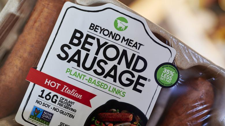 Beyond Meat sausage