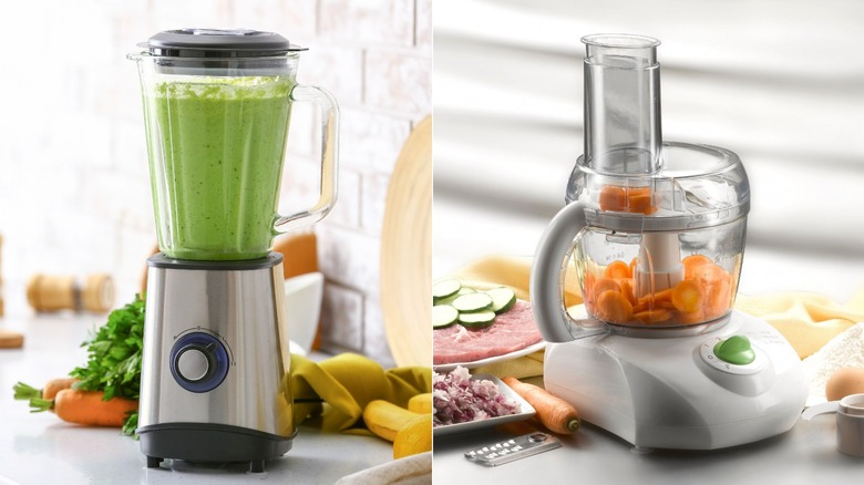 Blender and food processor