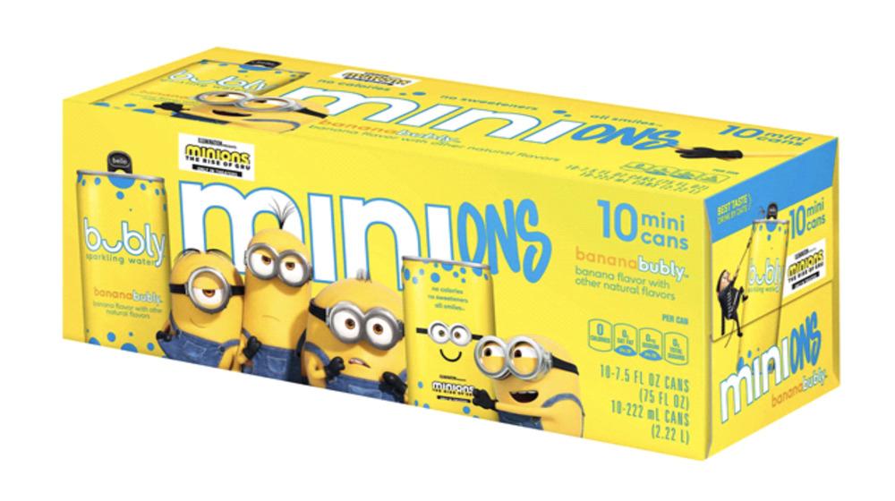 Minions Banana Bubly box