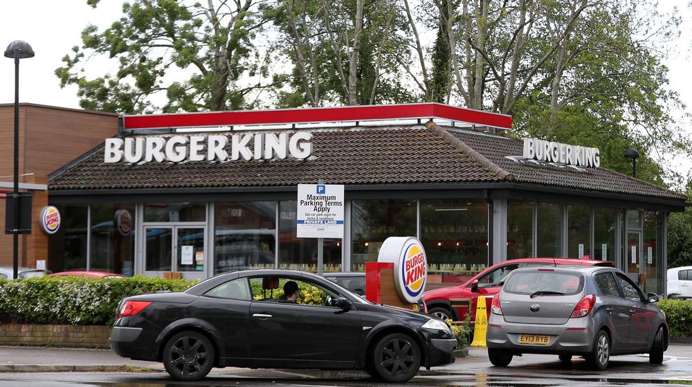 cars at Burger King