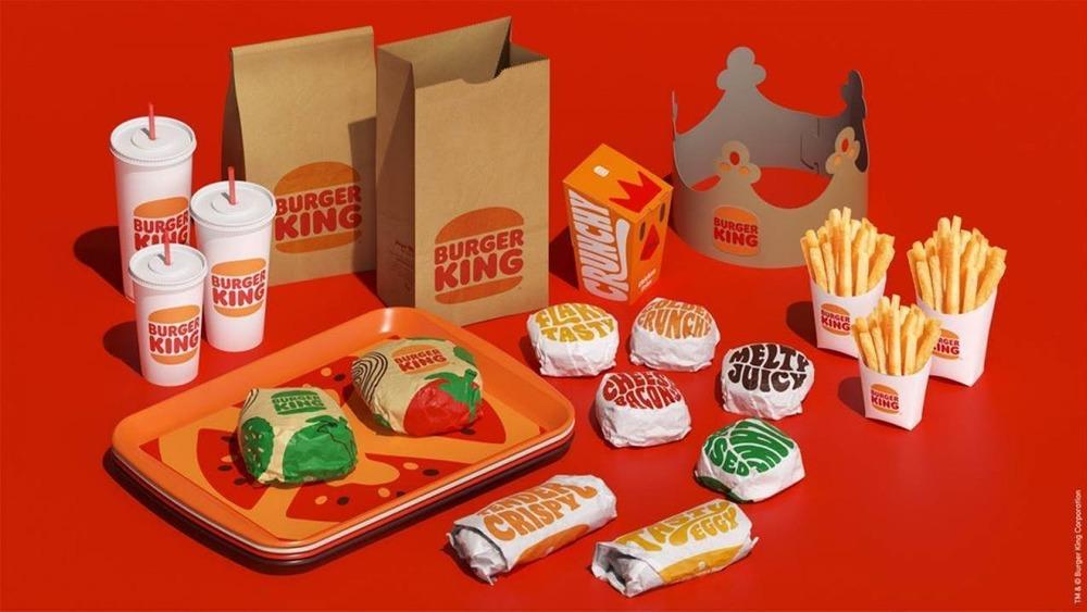 New Burger King Packaging Design