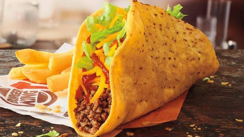 Burger King crispy taco