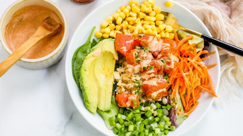 Cajun poke salad recipe
