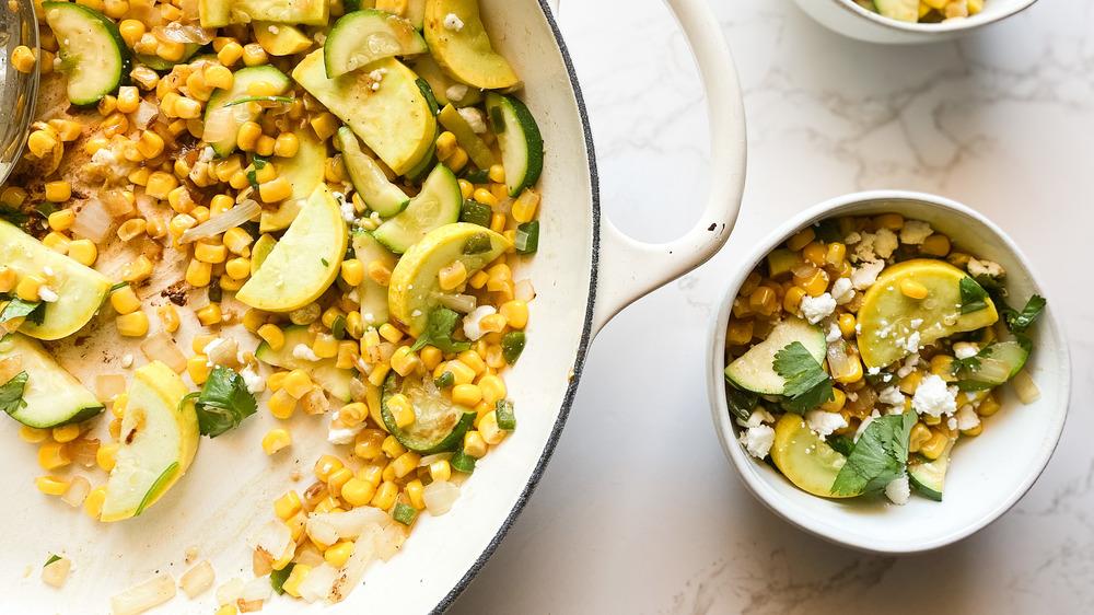 calabacitas with corn