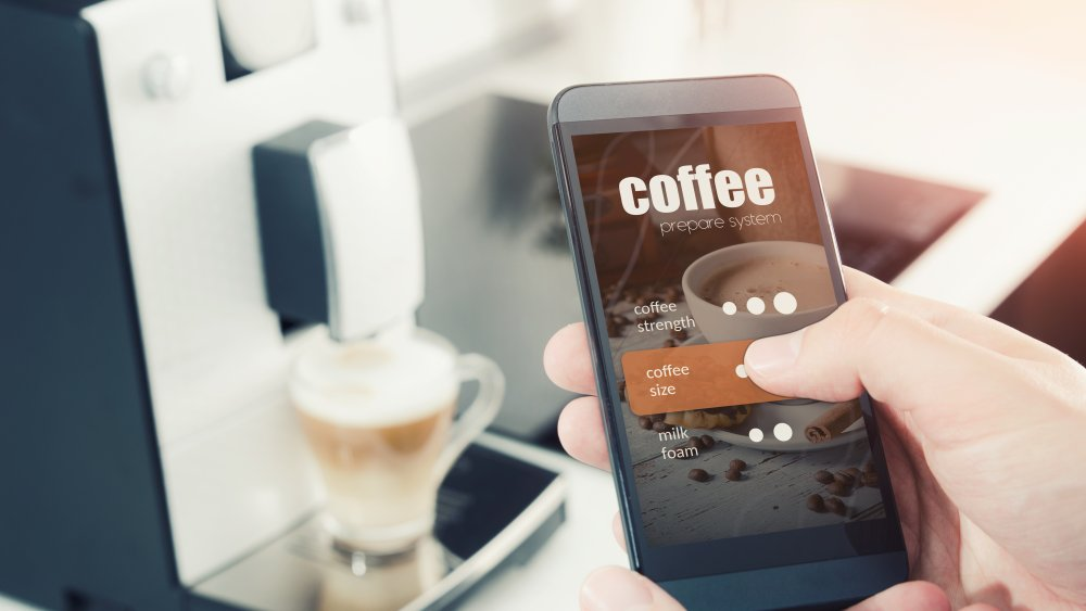 smart coffee maker with app