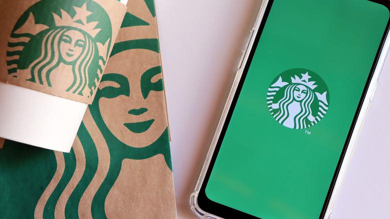 Starbucks takeaway and app