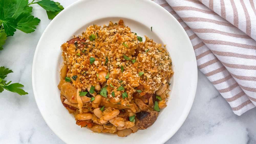 dish of cassoulet