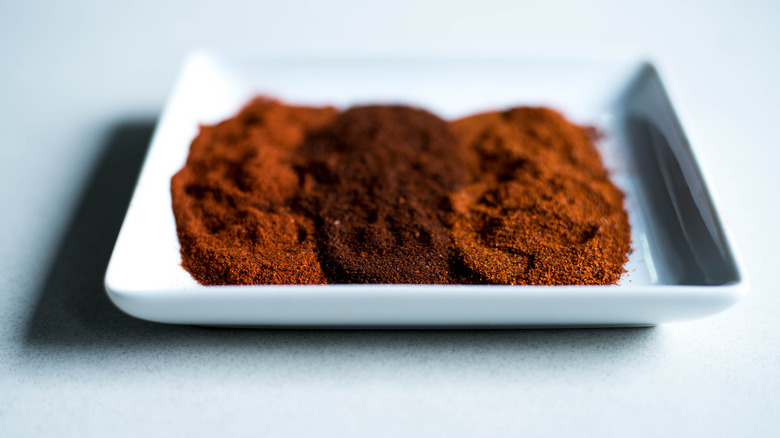 paprika and cayenne