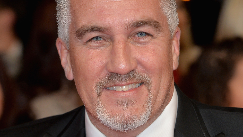 Paul Hollywood smiling