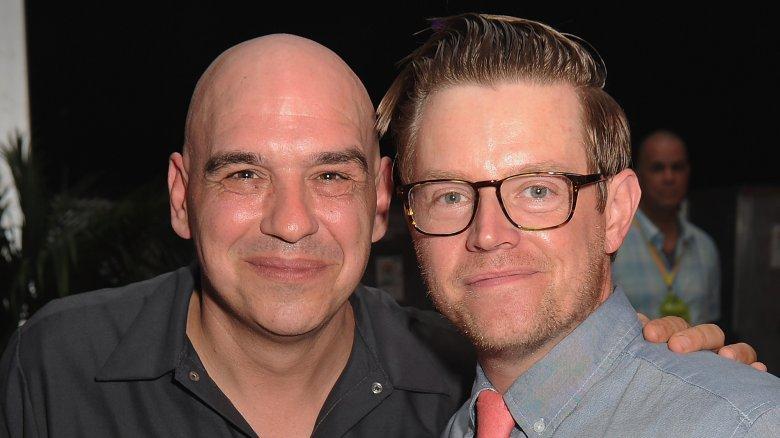 Michael Symon and Richard Blais