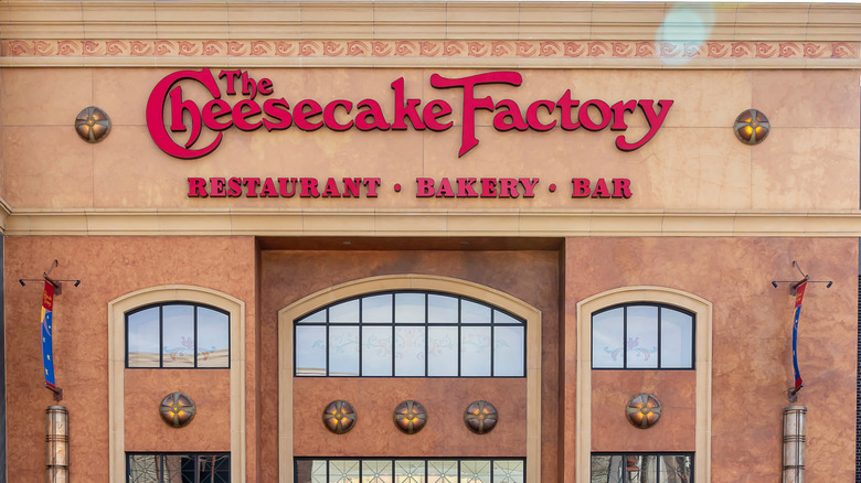 The Cheesecake Factory building