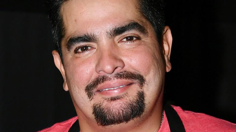 Chef Aaron Sanchez face close up
