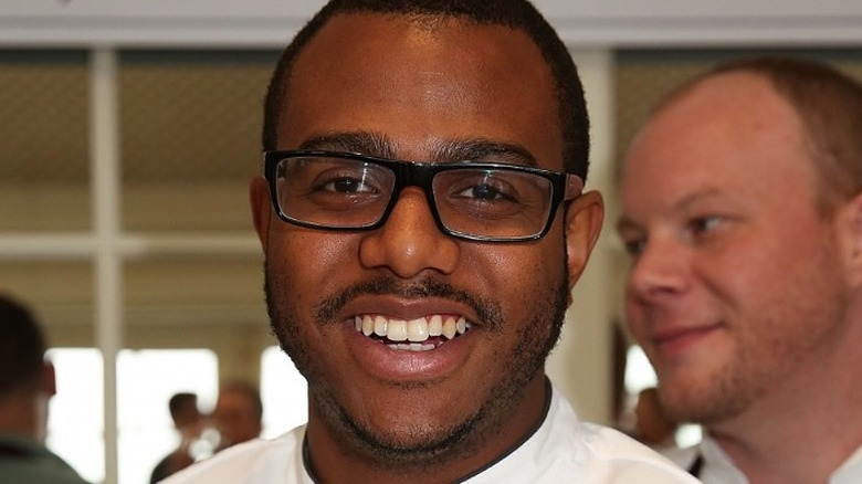 Kwame Onwuachi at Top Chef