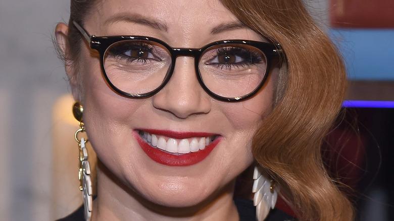 Marcela Valladolid wearing glasses