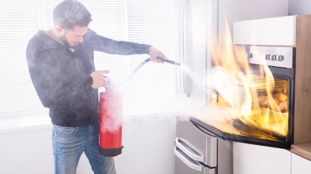 kitchen mistake