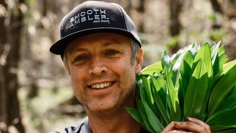 Chef William Dissen in a hat