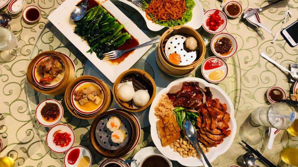 Cantonese dimsum spread