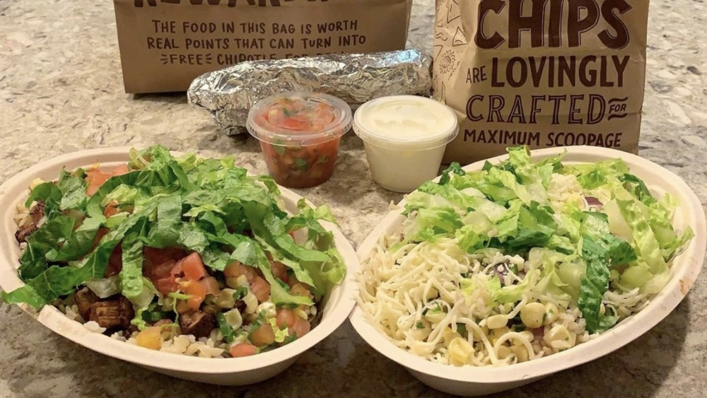 A Chipotle order