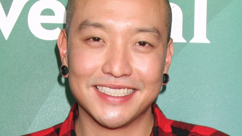 Chris Oh attends event