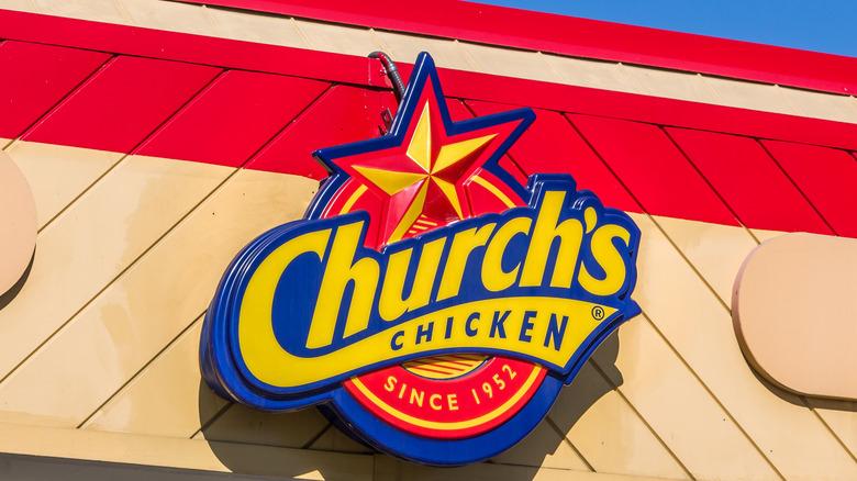 Church's Chicken sign