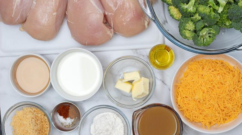classic chicken Divan recipe ingredients
