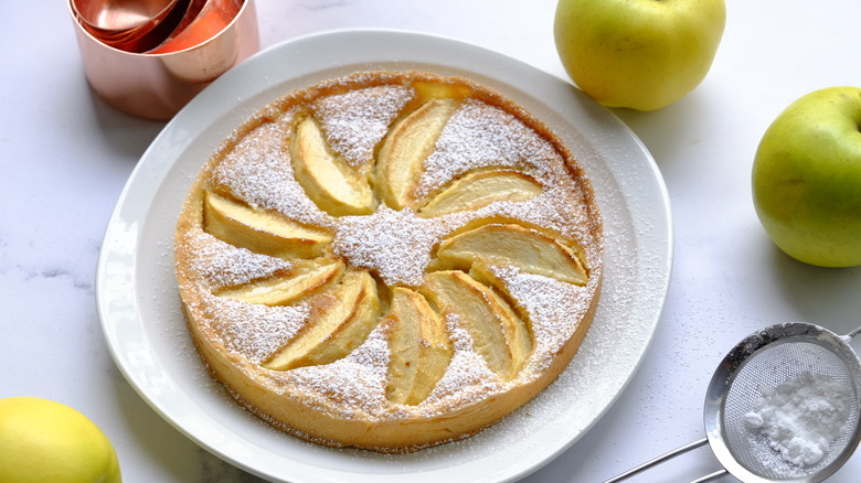 a French tart
