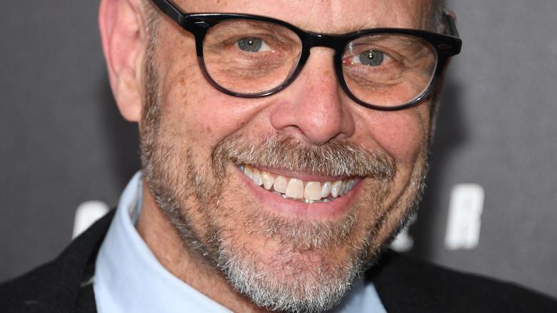Alton Brown in glasses