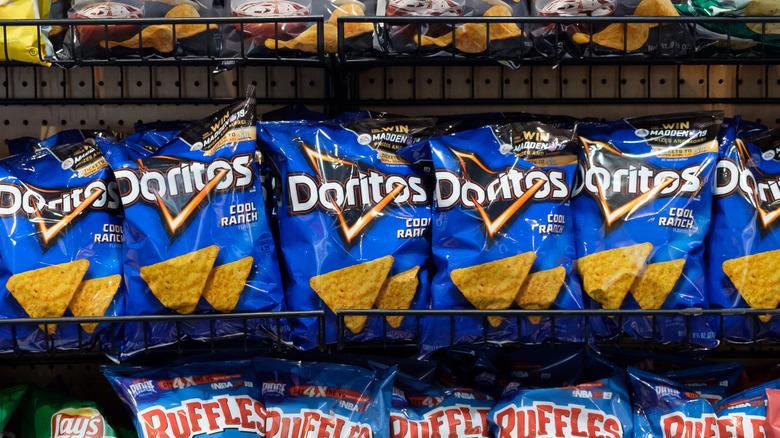 Doritos Lay's chip aisle snack