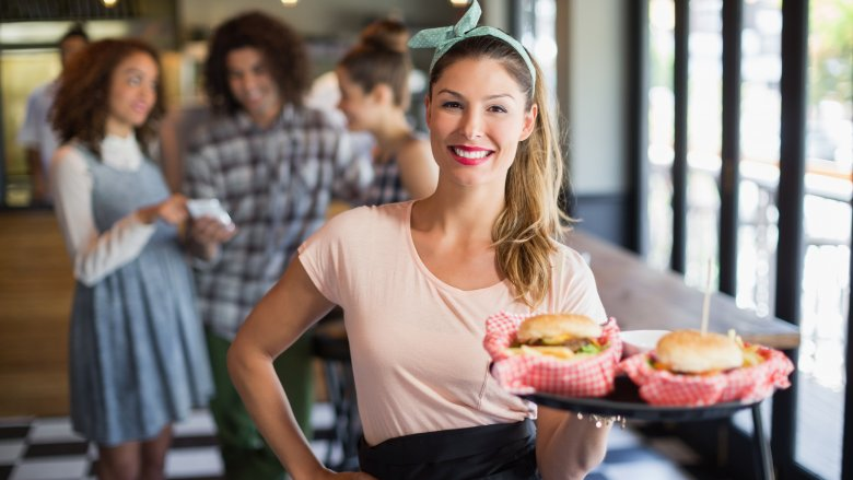 generic fast food waitress