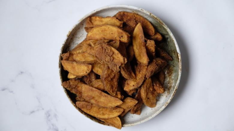 Copycat KFC fried potato wedges