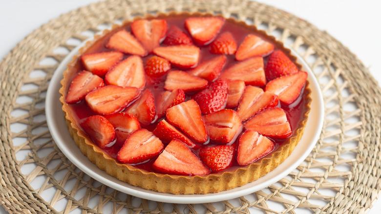 Copycat Shoney's strawberry pie recipe