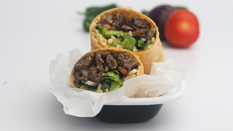 Copycat Subway's Chipotle Southwest Steak And Cheese Wrap Recipe