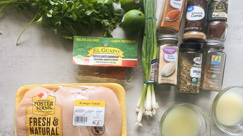 Copycat Trader Joe's Pollo Asado ingredients