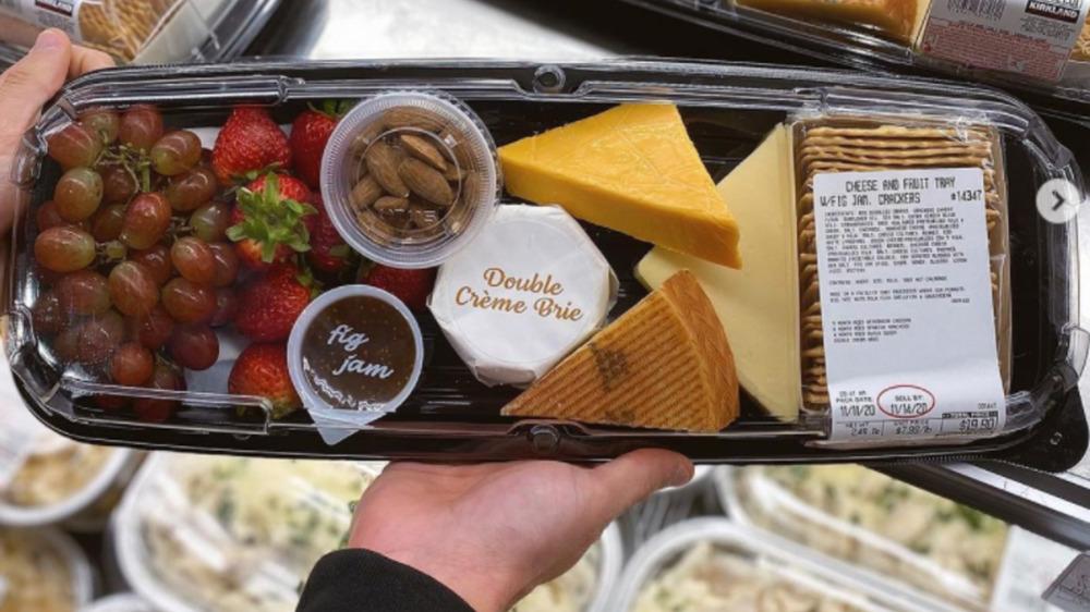 Costco premade cheese board