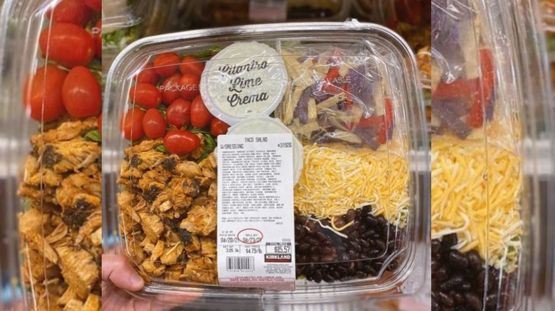 Costco taco salad kit