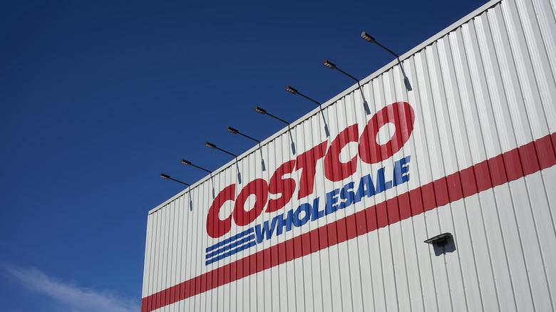 Costco logo on building