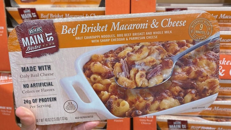 Beef Brisket Macaroni & Cheese