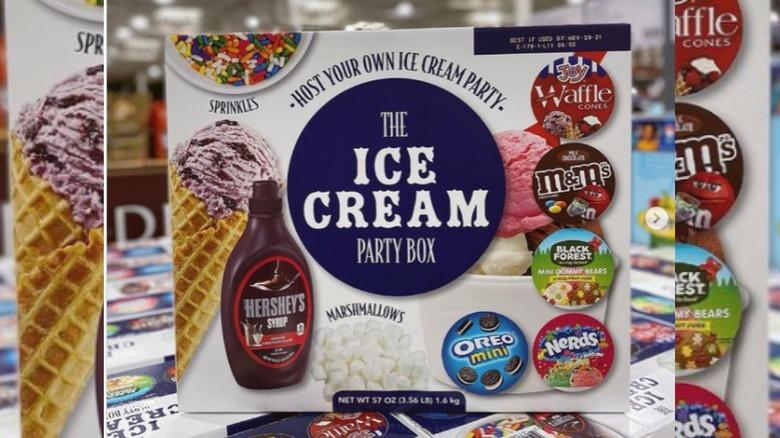 Costco Ice Cream Party Box