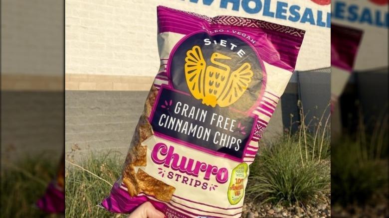Siete Churro Strips at Costco