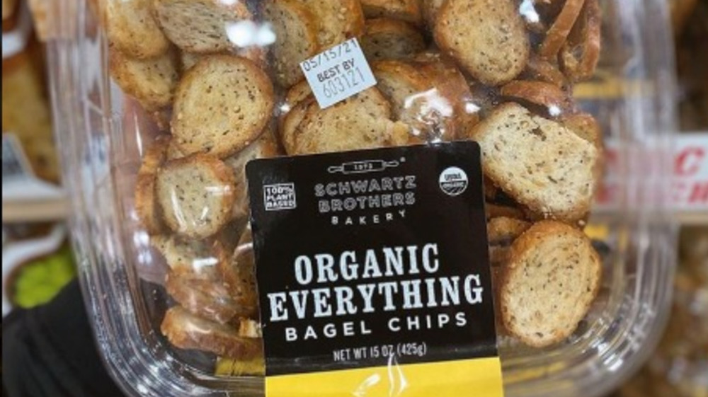 Costco organic everything bagel chips