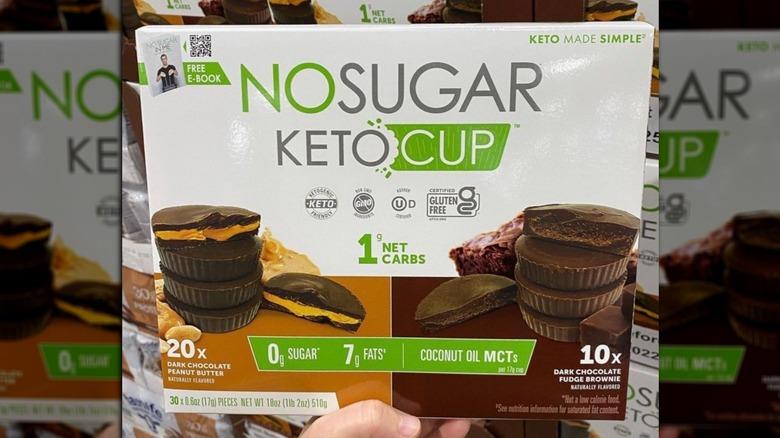Costco's No Sugar Keto Cups