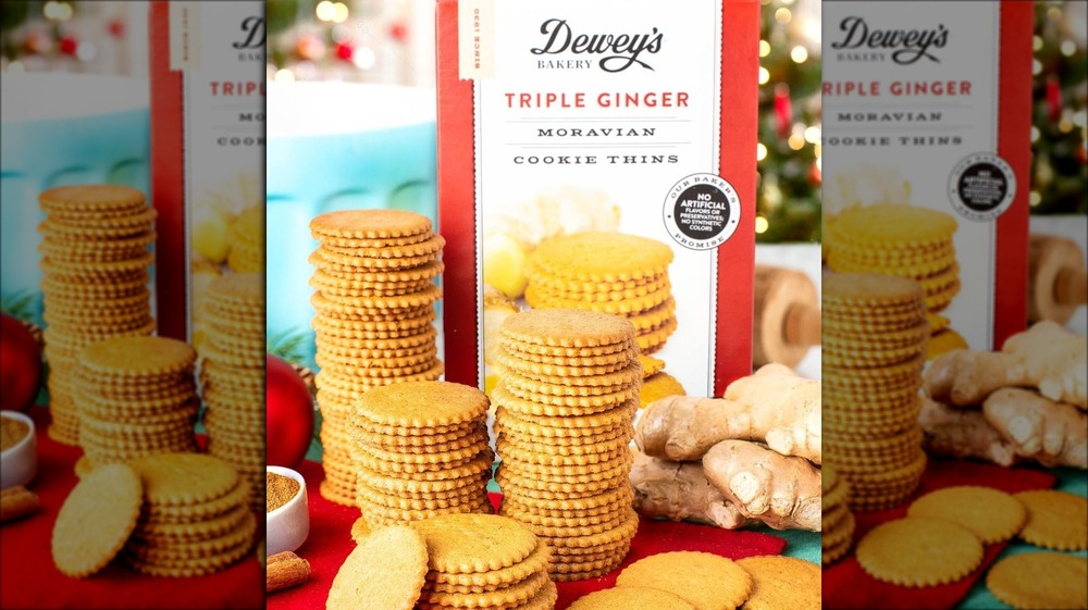 Dewey's Bakery Triple Ginger Cookie Thins from Costco