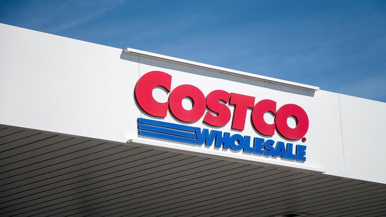 Costco building sign