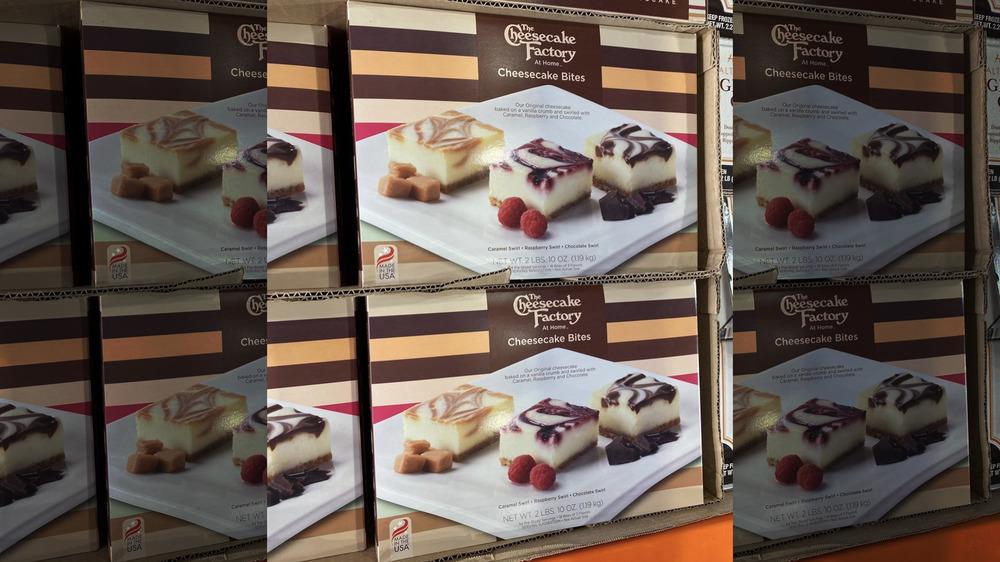 Costco Cheesecake Factory individual bites