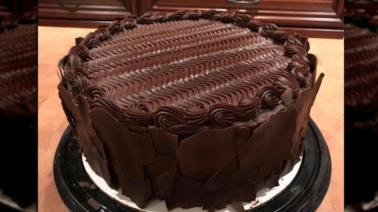 Costco's chocolate cake