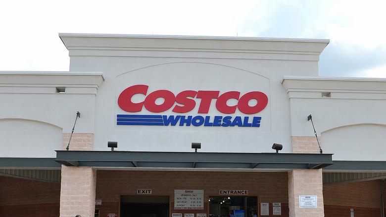 Costco entrance