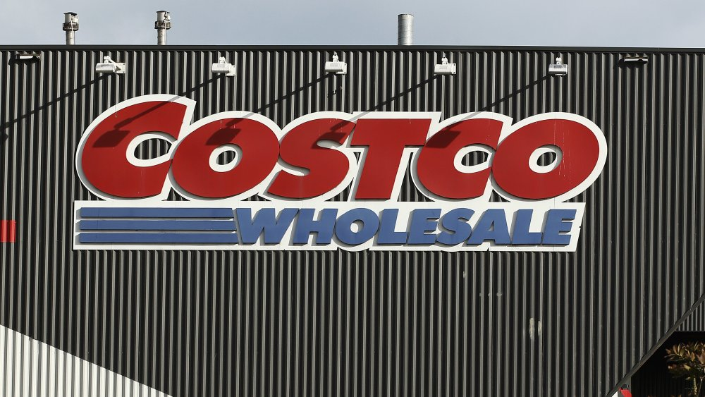 Costco sign on the store