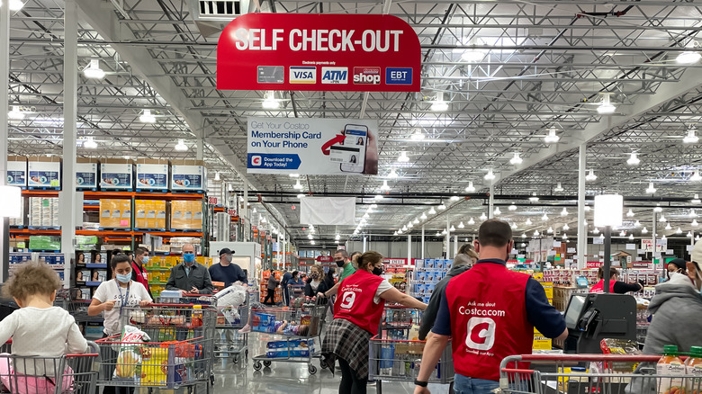 Costcobusy checkout