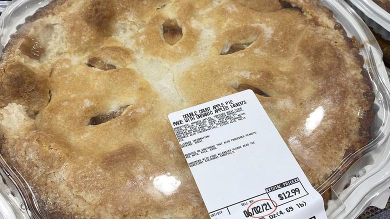 Costco's Double Crust  Apple Pie