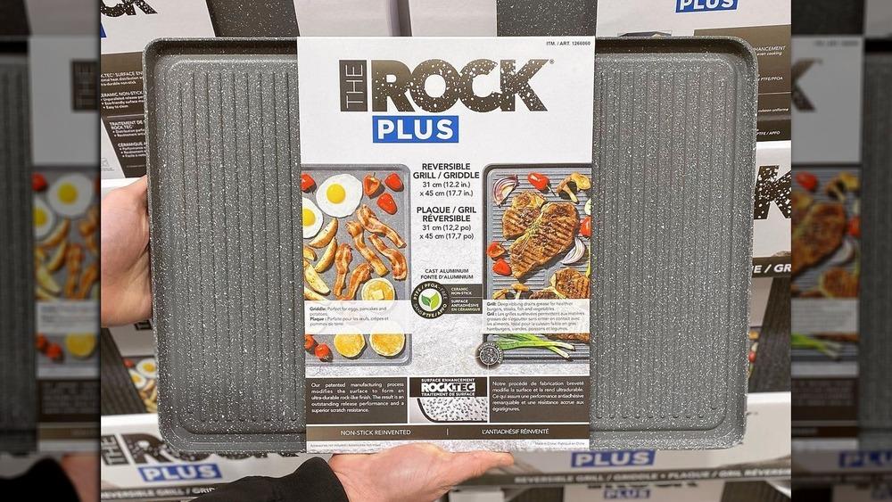 Costco reversible grill pan